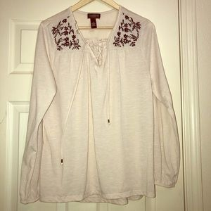 Karen Brooks women's Embellished Blouse